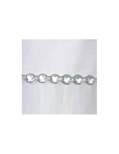 Chainette sans fin cristal 1.50m