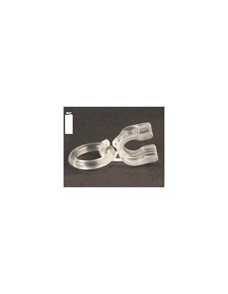 Annelet clip transparent 4mm pour store à plis