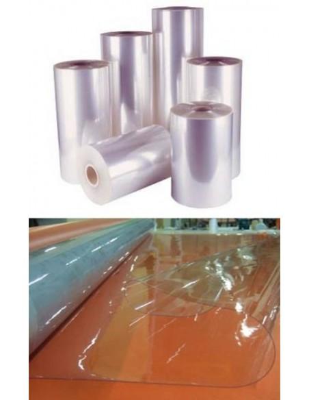 Nappe plastique souple transparent Cristal 0,65mm