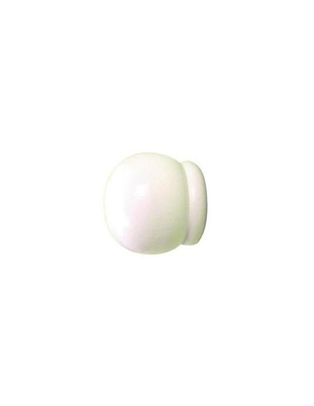 Pomme Rustique 20mm Blanc