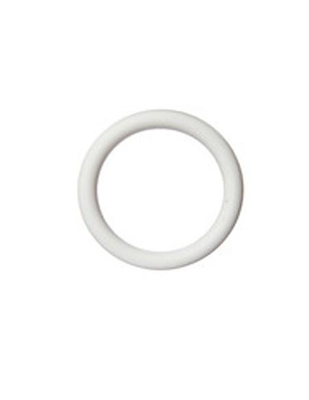Anneau 70mm Blanc pour baton de 35mm