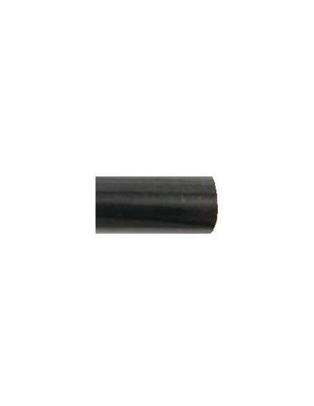 Tube Arabesque 19mm laqué noir L250