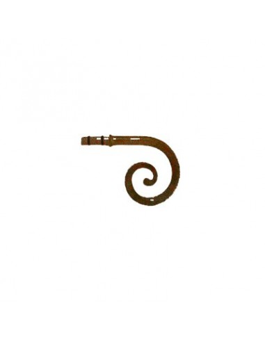 Embout Spirale 19mm RouilleVieil