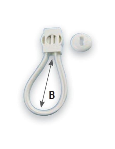 Tendeur élastique à clips