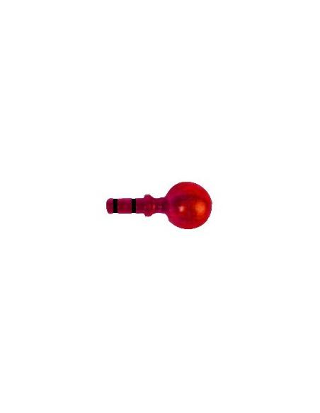 Embout Contemporain. 19mm Laqué Rouge