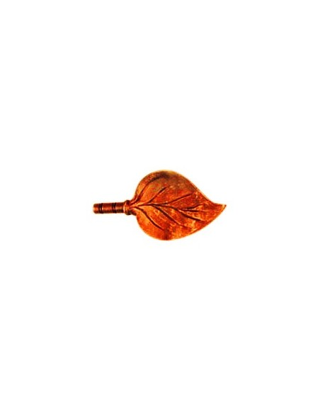 Embout Feuille 19mm Rouille