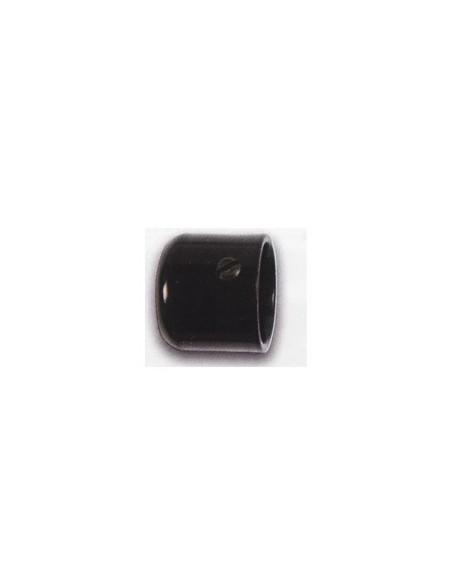 Embout Bouchon 19mm Laqué Noir