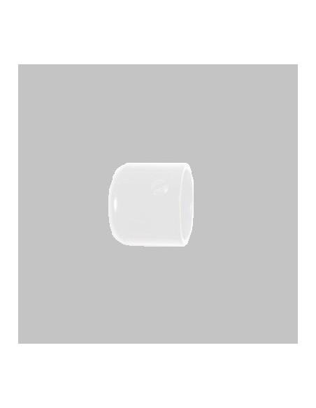 Embout Bouchon 19mm Laqué Blanc