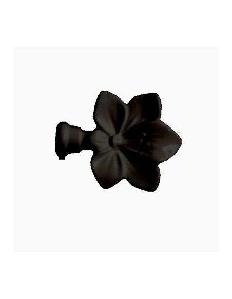 Embout Fleur 19mm LaquéNoir