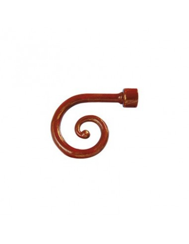 Embout Spirale 28mm Rouille