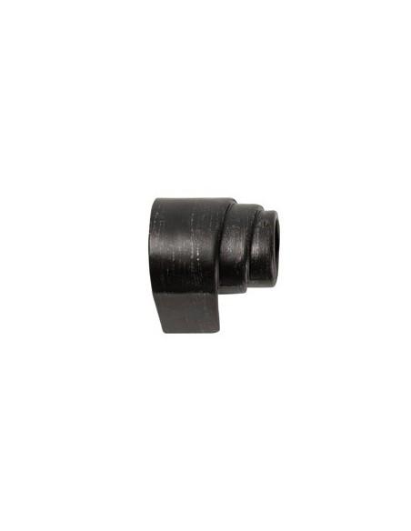 Emb. Rouleau gauche 28mm Noir