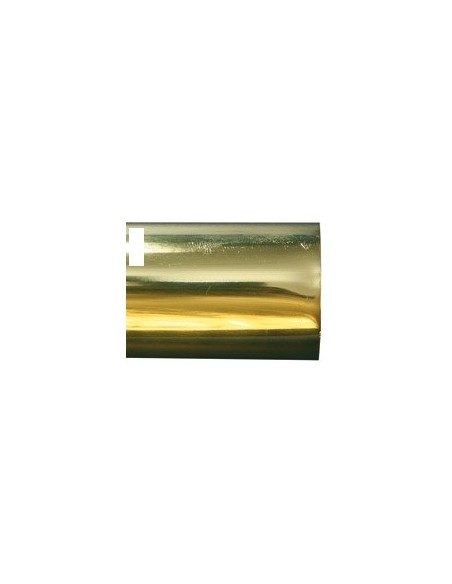 Tube laiton Poli Verni 35mm plein L500