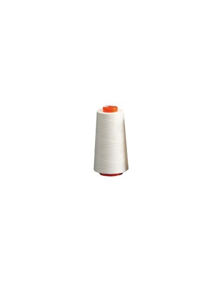 Fil à coudre BELFIL 80 Polyester blanc Cone de 5000m