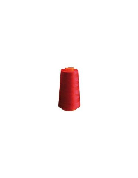 Fil à coudre BELFIL 80 Polyester rouge Cone de 5000m
