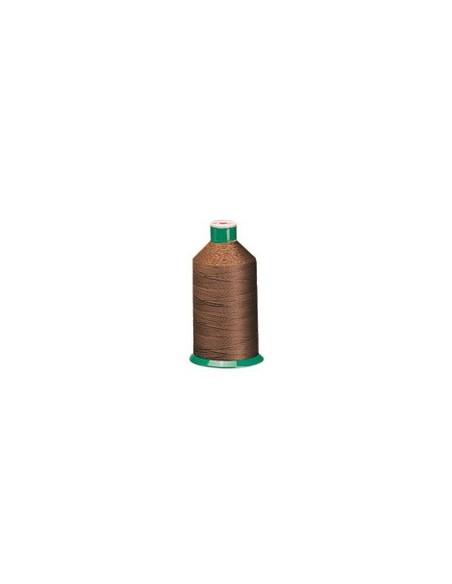 Fil à coudre SERAFIL 20 marron- Cône de 2500m