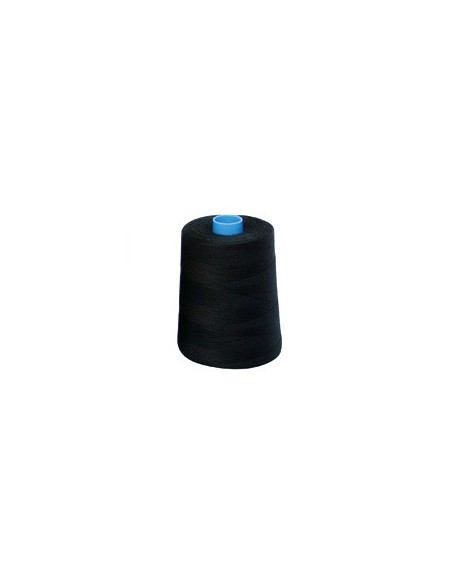 Fil à coudre hydrophobe 25 noir - Cône de 2000m